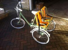 Pashley Picador Trike Tricycle 2 Child Children Seats.