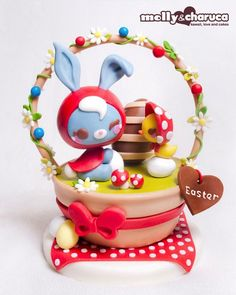 Molly & Charuca - Easter cake