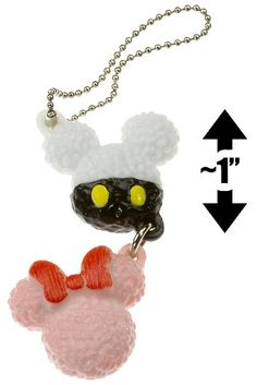 "【Rakuten Ichiba】 Many undisclosed Disney specialty Rice Ball (~ 1 ""each): Disney Mickey Mouse Character Food Mascot Charm Series (Japanese Import) Disney Pixar Overseas Limited 【Blue Stars by LEEFUR】: LEEFUR Reefer"