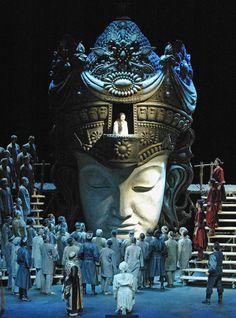 Giacomo Puccini - Turandot. Finnish National Opera 2013. Producer: Sonja Frisell. Sets, Costumes: Jean-Pierre Ponnelle. Lighting: Joan Sullivan Genthe. Photo credit: Finnish National Opera, Helsinki, Finland http://www.ooppera.fi