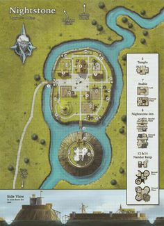 d&d village map Fantasy City Map, Fantasy Castle, Medieval Fantasy, Fantasy Village, Dungeons And Dragons Homebrew, D&d Dungeons And Dragons, Village Map, Urban Village, Pathfinder Maps