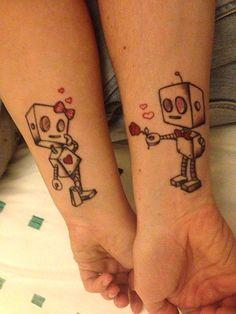 INSPIRA DNIA: tatuaże dla par