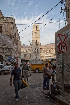 Hebron, the oldest Jewish community in the world. West Bank