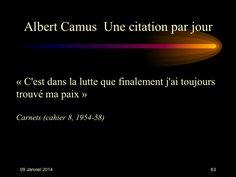 Albert Camus (1913-1960) n° 63