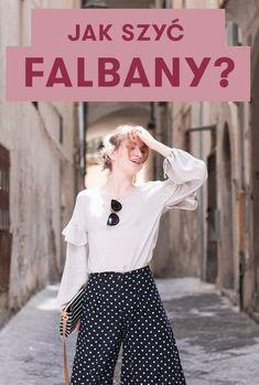 Jak szyć ubrania z falbanami? Instrukcja DIY! #diy #trendy #falbany #szycie Diy Clothes, Trendy, Diy And Crafts, Sewing, Chic, Outfits, Fashion, Diy Clothing, Shabby Chic