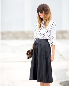 This Spring, the dressy-meets-casual piece to own is a chic and sophisticated pleated skirt. See our favorite ways to wear a pleated skirt then shop the looks on ShopStyle.