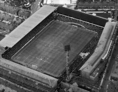 Aerial view Goodison Park, back in 1966 Football Music, 1966 World Cup, Bristol Rovers, Cup Games, Football Images, Goodison Park, Everton Fc, Football Stadiums, Vintage Football