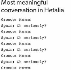 Hetalia - Spain and Greece xD