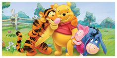 winnie the pooh and friends | Funny Child Cartoon Illustrations Vectors Graphics Designs Collection