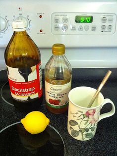 Molasses drink for Iron Deficient Anemia