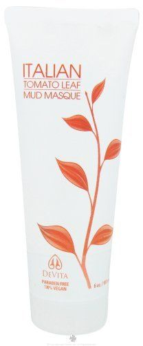 Mud Masque Italian Tomato Leaf 6 Ounces by Devita Skin Care. Save 39 Off!. $15.22. 6 Ounces Liquid. Serving Size:. Pore Purge In Progress... An intense detoxifying and cleansing masque designed to purge impurities and bring increased circulation to the surface of the skin. This natural masque is a luxurious treat made from 3 different types of clay - rare Montmorillonite from Spain and Italy, plus Bentonite and Kaolin. DeVita then blends them together with pure Tomato Lycopene Complex (TL...