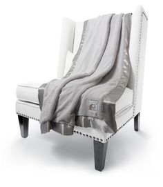 Little Giraffe Luxe Solid Faux Fur Fabric Throw Size: H x W, Color: Silver Oversized Throw Blanket, Faux Fur Blanket, Faux Fur Throw, Moroccan Fabric, Little Giraffe, Luxury Throws, Giraffe Print, Soft Blankets, Baby Blankets