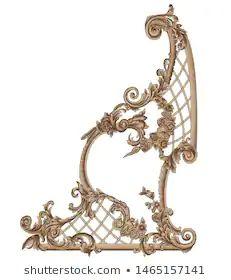 Baroque Decor, Baroque Art, Baroque Design, Ballet Painting, Fabric Painting, Filagree Tattoo, Wedding Columns, Rose Flower Wallpaper, Futuristic Interior