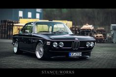 Behind H&R - Christian Heine's BMW E9 3.0 CSi