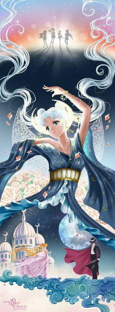 World of Eternal Sailor Moon — Fanart by Pillara.