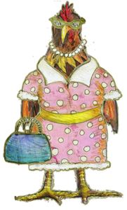 Snowed in? Entertain the little ones with Dress the Chicken on our Activities page!  http://chickenandthedog.com/wp/all-activities/
