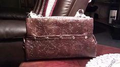 Faux leather Miche purse shell