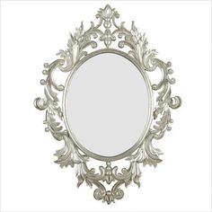 "www.csnmirrors.com - Kenroy Home Louis Wall Mirror in Silver Leaf - $187.20 - 38"" x 28"""
