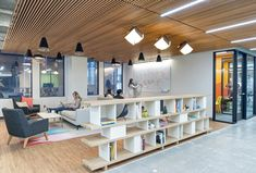 Design Blitz has designed the new offices of grocery delivery company Instacart…