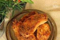 V kuchyni vždy otevřeno ...: Máslovo - česnekové kuřecí řízky