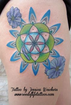 seed_of_life_flower_sacred_geometry_hip_tattoo_by_jessica_weichers.jpg (434×640)
