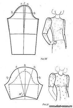 Глава 2. - Раздел II - Раскрой пошив моделирование женской лёгкой одежды - Всё о шитье - Шей сама