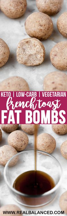 French Toast Fat Bombs | Real Balanced