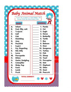 printable dr seuss baby shower games google search baby shower