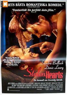 sandra bullock movie posters | Stolen Hearts (1996) Movie poster 70x100cm Sandra Bullock/Denis Leary