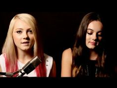Radioactive - Imagine Dragons (Alexi Blue & Ava Allan - Cover) This girl (Alexi Blue, on the left) does AMAZING covers of popular songs!