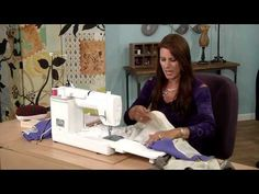 ▶ 607-2 Angela Wolf has a Little Black Dress lesson on how to use lining as facing on It's Sew Easy - YouTube
