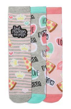 Primark - 3 Pack Novelty Princess Pizza