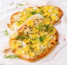 Recepty: Bramborová pizza s koprem