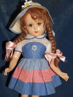"""~ 17"""" Composition Arranbee """"Nancy Lee"""" Doll ~ I've looked for this """"similar"""" doll for years."""