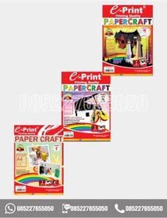 Pemesanan paper craft hubungi 0852-2765-5050. #papercraft #jualalattulis #alattulissekolah #paper #eprint