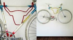 Wall-mounted bicycle storage is incredibly practical, but usually leaves you with an industrial-looking mess when the bike's in use. Not if you get hold of a Trophy Bicycle Holder: a modern riff on the stuffed animal head that doubles as a bike hanger.
