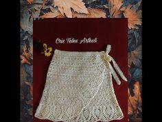 New crochet skirt tutorial dresses Ideas Irish Crochet, Diy Crochet, Crochet Baby, Crochet Top, Bikinis Crochet, Crochet Skirts, Crochet Clothes, Simple Dresses, Nice Dresses