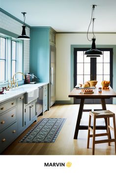 Windows built to let the light in. Get inspired with this dreamy kitchen design. Sliding Windows, Casement Windows, Single Hung Windows, Shaped Windows, Window Styles, Bay Window, Architecture Design, Kitchen Design, Sweet Home