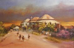 The Pony Derby by D'Arcy Doyle Australian Painting, Australian Artists, Pen And Wash, Art World, Art Sketches, Pony, Beautiful Pictures, Paintings, Derby