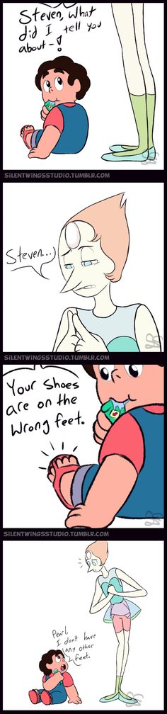 Steven Universe Comic - Wrong Feet by Sigma-the-Enigma on DeviantArt