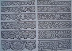 . Схемы для филейного вязания - Все в ажуре... (вязание крючком) - Страна Мам