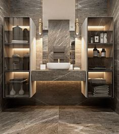 Modern Design and Living Come get amazed by the best bathroom lighting inspiration. See our luxury l Bathroom Lighting Inspiration, Best Bathroom Lighting, Vanity Lighting, Dream Bathrooms, Amazing Bathrooms, Small Bathroom, Bathroom Ideas, Bathroom Organization, Bathroom Designs