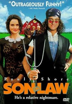 Son in Law (1993). I can't even hide my love for this, admittedly, dumb movie, lol. 90s references are my weakness (just brings me good ole fashioned nostalgia), and I come from somewhere where I'm familiar with rural life. Combine the two, and hilarity ensues.