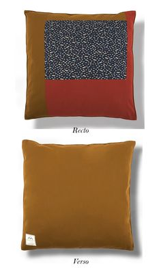 Coussin patchwork COCO Lune - Adeline Affre