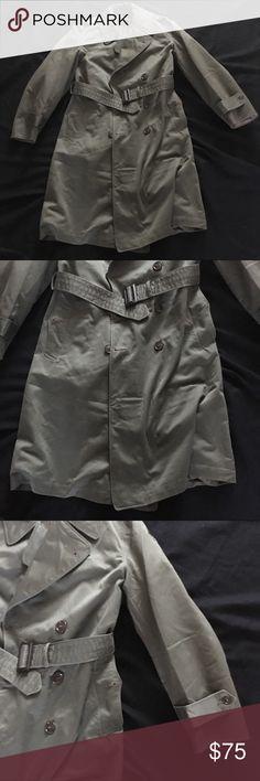 Pin de luis henajua en totalmente pinterest ojos y modelo vintage official us military trench jacket sm shrt fandeluxe Choice Image