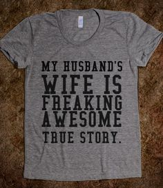 HUSBAND'S WIFE lol