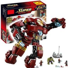 Posted on Shopify : 7110 Marvel Super Heroes Avengers Building Blocks Ultron Iron Man Hulk Buster Bricks Toys Compatible With LEPINE