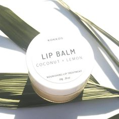Looking for that perfect pout? It's time to say goodbye to chapped lips with Kokko's coconut and lemon lip balm. This nourishing balm is perfect.