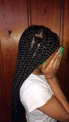 Large box braids