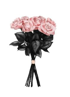 """Botanik """"Pink Bouquet"""" by Peytil Chanel Wallpapers, Cute Wallpapers, Roses Pink, Art Chanel, Mode Poster, Rosa Rose, Fashion Wall Art, Rose Bouquet, Black Bouquet"""